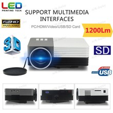Mini Multimedia Portable LCD LED Video Game HOME Cinema Theater Movie Projector For Party,Halloween,xmas Pocket Size with FREE