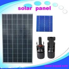 2015 NEW 10 year 90% power warranty price per watt solar panels 250w