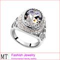 líder de moda jóias anel de casamento barato