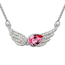 N6498 2013 hot sale crystal necklace popular ornament