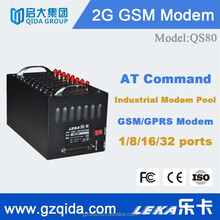 wavecom dual band gsm modem q2303/q2403/q2406 for stable signal and fast bulk sms advertising QS80