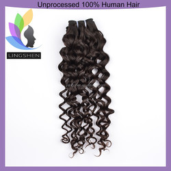 7A Top Quality Hair Thick Ends Loose Curly Hair Myanmar Unprocessed Virgin Human Hair