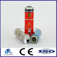 Factory Price 4 Colours 2 Pieces Aerosol Tin Can, Two-piece Tin Can With Different Sizes