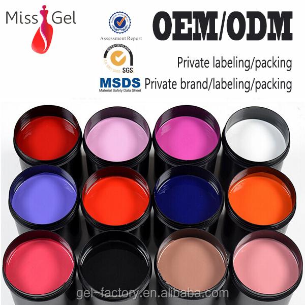 uv gel color nail gel polish NO.2047 LED/UV lamp 268colors