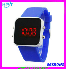 Promotion led watch 2015 design your own led watch digital movt differnt color style