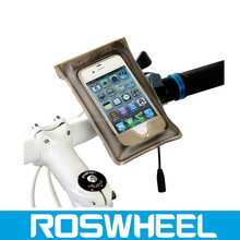 Wholesale hot sale waterproof canvas bicycle smartphone punch bag 11601waterproof smartphone bag