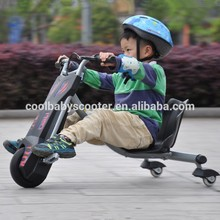 2015 fashionable 3 wheel flash rider Tricycle 360 wheel electric twins tricycle for children