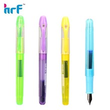 Plastic transparent fountain pen