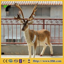 Christmas outdoor decorative deer animal statue for sale electric deer