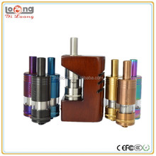 Alibaba china supplier yiloong wood fog box mod like K-box mod 510 thread connect cloupor mini 30w box mod