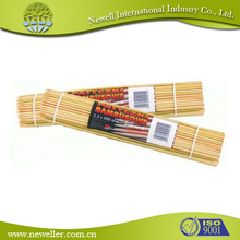 Disposible flat easy holding bamboo stick