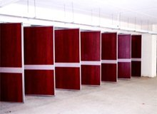 Rome piece part full height operable partition