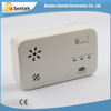 High security portable carbon monoxide gas alarm