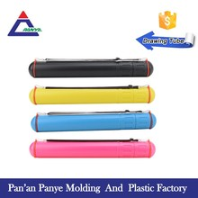 Free Sample colorful easy taking drawing storage tube/drafting tube/document tube