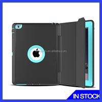 New arrival hot selling 3 proofing case for iPad mini ,TPU+PC+Leather case for iPad mini