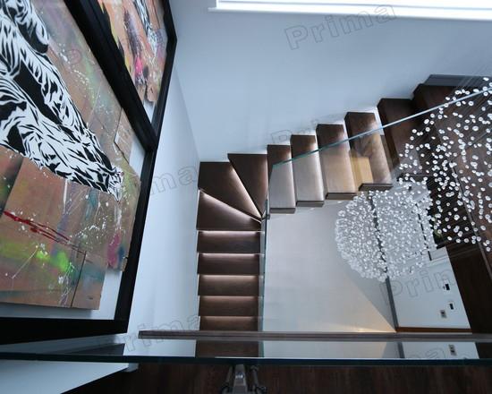 bois led tapes en verre tremp garde corps escalier minimaliste escaliers id de produit. Black Bedroom Furniture Sets. Home Design Ideas