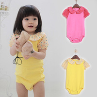Happy Baby Girl Cheap Lace Bubble Romper Of Kid Clothing Wholesale