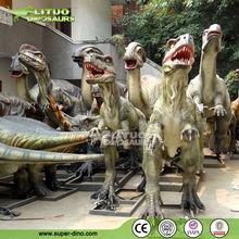 Theme Park Animatronic Foam Dinosaur Factory
