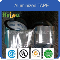 aluninum reflective silver color air duct sealing tape insulation tape