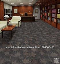 LNZT650 La moqueta oficina Alfombra azulejos ignifuga