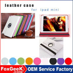 Bulk buy from China new products tablet pc cases for ipad mini 3 /belt clip case for ipad mini multi color option