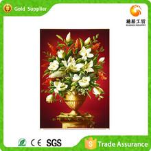 Flower Vase Painting Wedding Devorative Cross Stitch 3D Diy Diamond Embroidery Painting