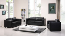 hot sale cheap modern top leather sofa box sofa with metal leg
