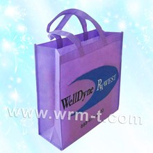 Eco-friendly Supermarket Reusable Nonwoven Fabric Bags with Body Handles