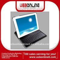 "2.4GHz Wireless Bluetooth Keyboard with Rotatable Case Holder for 10"" Tablet PC"