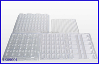 anti-static Electronic component blister plastic tray