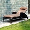 2015 new product outdoor wicker patio cosy chaise lounge rattan day bed,extendable day bed,rattan hanging bed