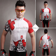 2015 summer new sport cycling Jerseys China design red cycling wears