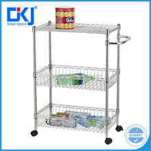 HKJ-B005 Chrome finish hot Selling wire shelving,metal wire shelf,wire rack