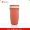 300ml double wall plastic (paper )cup with lid (KL-5011)