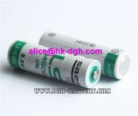 100% New Original and best sale AA size 3.6v 2450MAH 3.6V lithium battery LS14500