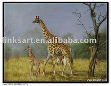 New design handmade animal oil painting