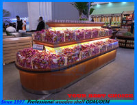supermarket candy display shelf/rack store equipment acrylic box