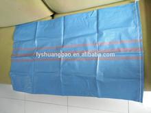 baratos azul pp saco tejido a la exportación a polonia para el embalaje