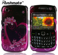 Hard Plastic Fashion Design Case For BlackBerry Curve 8520 9300