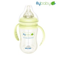Flybaby new design glass baby bottle manufacturing