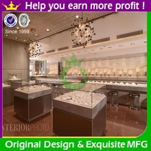 High quality mobile glass jewelry display cases for sale
