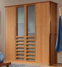 Modern Design Bedroom Bamboo Five Door Wardrobe