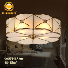 Factory price Good selling Brass lamps ceiling lamps European style Copper ceiling light Bronze ceiling lamp BC-0632-4