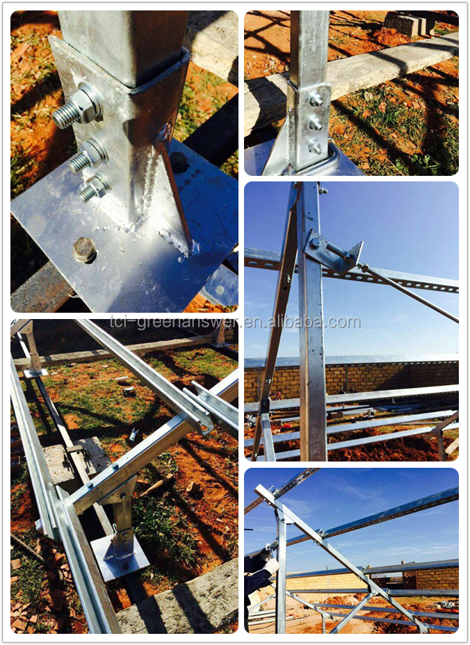 Pv Solar Panel Fixed Mounting Structure Buy Factory