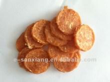 organic dog food soft chicken jerky circle high protein pet snacks