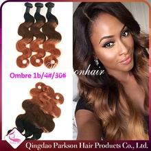 ombre bundles hair weaves body wave virgin remy hair unprocessed short hair brazilian weave