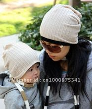 Twisted design Children Double-sided Hat baby's Adult Hats gray blue red coffee cap cotton caps JPHATS021
