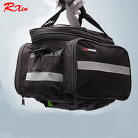 KINGSIR bicycles carry bag Mountain bike carry bags shelves after bag take cover