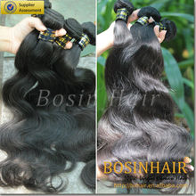Tangle & shedding free 6A human hair extensions korea