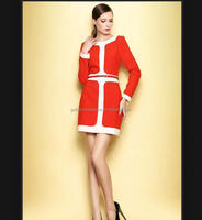 fashion picture 2014 young lady office wear dresses